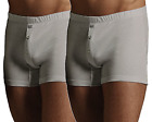 Boxer Man 2 Pieces Bipack Opening Front Small Buttons 100% Cotton Lovable L01CM