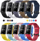 For Fitbit Charge 3/4 Bands Sports Replacement Silicone Wristband Watch Strap