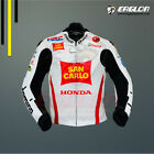 Honda Carlos MotoGP 2011 Leather Race Jacket