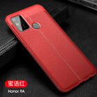 Shockproof Cover Soft Leather Patterned Rubber Case For Huawei Honor Play 9A