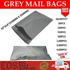 Grey Mailing Bags Strong Postal Postage Post Self Seal All Quantities- 10