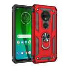 For Motorola Moto E5 G8 G7 Play/Plus/Power Shockproof Case Cover+Tempered Glass
