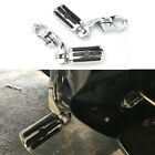 """Chrome Highway Foot Pegs Pedals 1-1/4"""" Crash Bar For Harley Touring Motorcycle"""