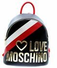 ZAINO CASUAL MOSCHINO JC4286 NERO IN ECO PELLE
