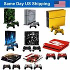 New Sony Playstation 4 PS4 Vinyl Sticker Decal Console + 2 Controller Skin Cover