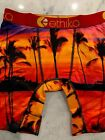 Ethika The Staple Fit - Men's Boxers - Beach Sunset - FREE SHIPPING - NEW
