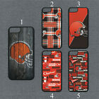 Cleveland Browns Phone Case For iPhone 11 Pro X XS Max 8+ 7 6 Plus Black Cover $14.95 USD on eBay