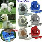 Hot Small Dog Pet Puppy Harness And Leash Set Breathable Mesh Vest Chest Strap