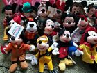 Assorted Mickey Minnie Goofy Donald Pluto Disney Store Beanies NWT FREE SHIPPING