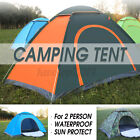 US Waterproof Camping Tent Auto Pop Up Quick Shelter Outdoor Hiking 2-3 Person