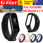 For Xiaomi Mi Band 4 3 Silicone Wrist Strap Replacement Watchband Smart Band Au