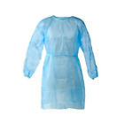 Disposable Isolation Gowns, Protective Gowns, Universal Size - Pack of 10 Gowns