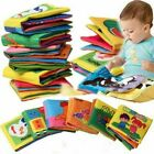 0-36 Months Newborn Baby Early Educational Soft Cloth Crib Book Educational Toy