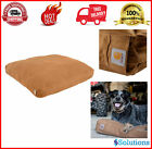 Dog Bed Pet Sleeper Durable Canvas Water Repellent Large Medium Washable Shell