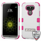 For LG G5 TUFF Rugged Shockproof Hybrid Phone Protector Cover (w/ Stand)