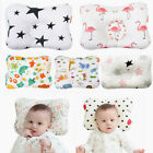 Baby Cotton Pillow Infant Newborn Flat Head Sleeping Support Prevent Breathable