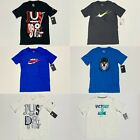 Nike Boys Youth The Nike Tee / Cotton Athletic Graphic T Shirt S M L XL