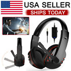 Gamer Headset For Ps4 Playstation 4 Xbox One & Pc Computer Pro  Headphones