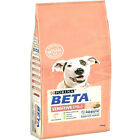 BETA SENSITIVE - 2kg, 14kg Purina Salmon Adult Dry Dog Food bp Canine Biscuits