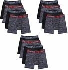 Hanes Men's Boxer Briefs 12-Pack Performance X-Temp 4-Way Stretch Mesh S-3X