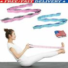 Resistance Stretch Loop Band Gym Yoga Fitness Exercise Elastic Rubber Strap US image