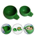 Pet Bowl Dog Cat Dish Water Food Feeder Parrot Pigeon Bird Cage Sand Cup Feeding