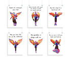 Angels, set of 6, print, prints, quote, poster, spirit, quote, wall art, quotes