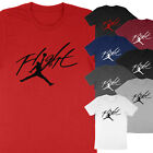 Kyпить NEW Flight Jumpman Hoop Michael Air Jordan Print Basketball Unisex T-Shirt Tee на еВаy.соm