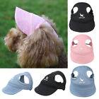 Dog Cat Hat Unisex Pet Puppy Baseball Cap With Buckle Strap Sports Casual Hat