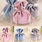 Candy Bag Drawstring Pouch Jewelry Gift Bag Storage Wedding Party Supply Pouch