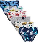 Boboking 100% Cotton Little Boys Briefs Soft Dinosaur Truck Toddler Underwear