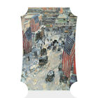 Home Decor Wall Sign Flags on 5Th Ave Winter 1918 Painting Art Picture Frame