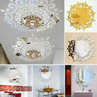 Acrylic 3d Flower Mirror Wall Stickers Diy Mural Decals Home Living Room Decor