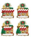 Personalised Christmas Tree Ornament Decoration Fireplace Family of 3,4,5,6