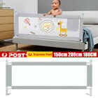 2m Baby Bed Fence Safety Gate Barrier Crib Rail Security Playpen Childre