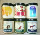"Bath Body Works 7 oz. Poured Candle Jar w/Lid *Choose"" Disc. Shipping Multiple"