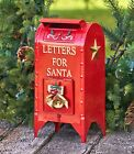 Set of 2 Letters For Santa Christmas Mailbox Decorations