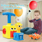 Inertia Balloon Launcher  Powered Car Toys set Gift For Kids game Experiment