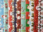 10+-50+SHEETS+OF+GOOD+QUAILTY+CHILDRENS+GLOSSY+CHRISTMAS+WRAPPING+PAPER
