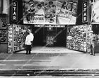 11022-028 historic Los Angeles Hollywood Star Theatre w nickel beer & hot dogs c