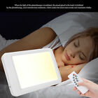 SAD Therapy Lamp Control LED Timer Home Office Phototherapy Night Light