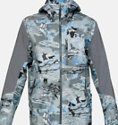 $250 Under Armour GORE-TEX Shoreman Men Jacket Storm Proof Camo Blue 1304634 924
