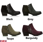 Moda In Pelle Besti Leather Ankle Outdoor Winter Boots Black Grey Taupe Burgundy