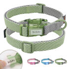 Personalised Dog Collar with Replaceable Handwriting Nameplate Nylon Dog Collar