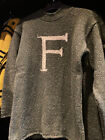 Discontinued by Universal,Replica F for Fred, Harry Potter Adult Sweater, Unisex