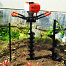More images of 52cc Gasoline Earth Auger Fence Post Hole Borer Ground Drill 3 Bits 12 Bar