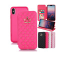 Bling Magnetic Flip Pu Leather Card Slot Wallet Case Cover For Iphone 12 Pro Max