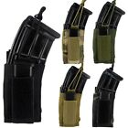 US Tactical Molle Magazine Pouch Bag Open Top Rifle Pistol Mag Kangaroo Pouch