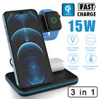 15W Qi Wireless Charger Charging Station Dock,For iPhone 12 Pro Max/Mini/11/SE 2