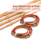 Real Leather Crossbody Strap Replacement w/ Buckle Adjustable Bag Accessories